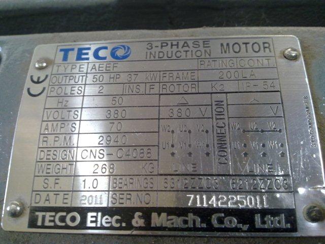 Dual Voltage Transformer Nameplate