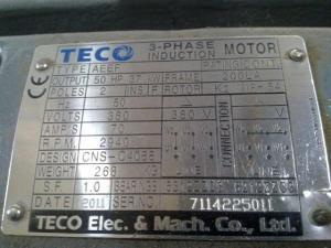 cara membaca nameplate motor