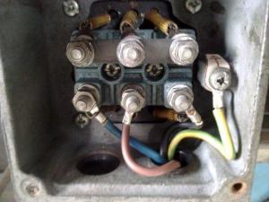 terminal box motor star starter