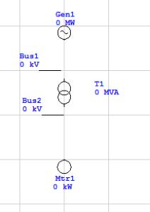 single line diagram di etap