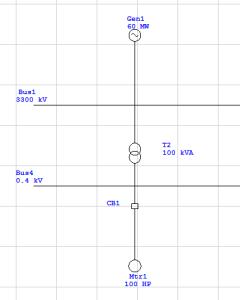 single line diagram etap