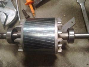 Bagian dan Cara Kerja Motor Induksi