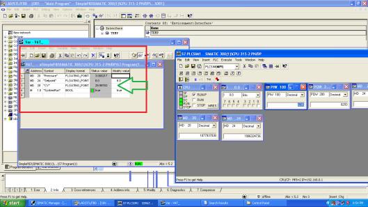 contoh kontrol integral