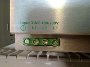 battery input