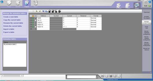 monitoring variable twido