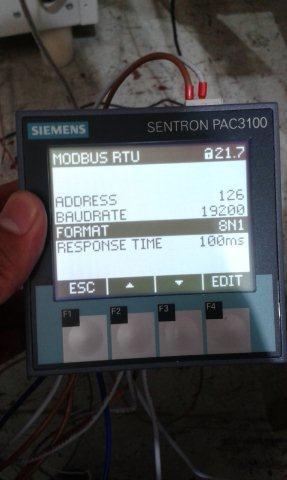 setting sentron pac3100