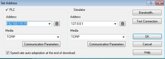 set ip address